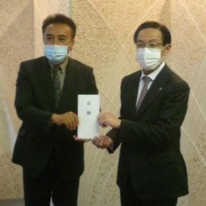京都府へ新型コロナウィルス感染対策応援として寄附